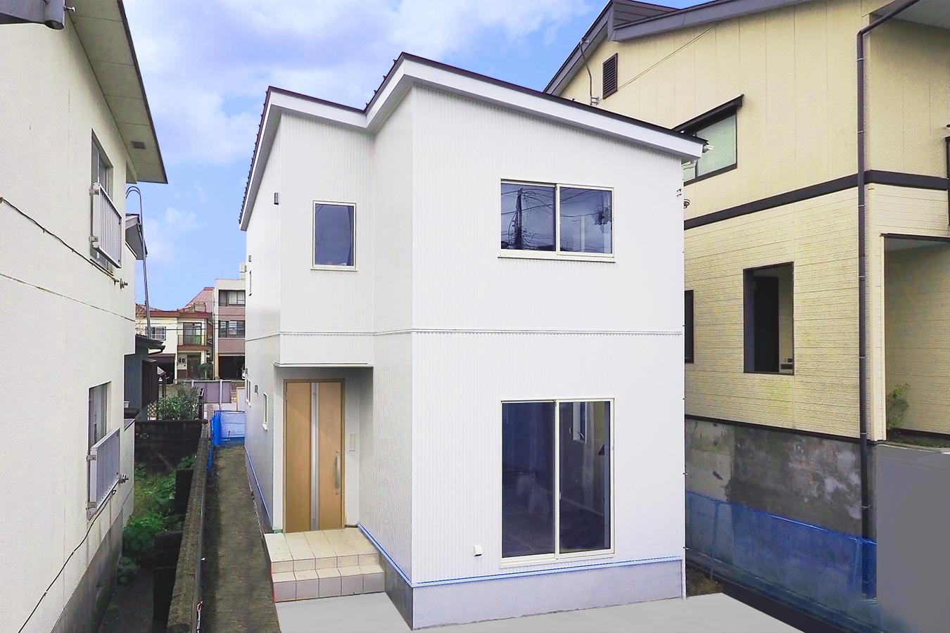 ニコニコ住宅 狭小住宅 コンパクト住宅 収納 たっぷり 広々暮らす 長岡 新潟