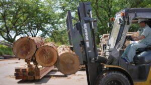 木材の運搬